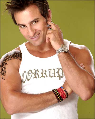 """A nanny in one of the baby-music classes I teach told me today that I look and sound just like Bollywood superstar Saif Ali-Khan.   I actually can kinda see the resemblance. But maybe that's just because we have the same """"my-shoulder-is-busted-and-has-been-sewn-up-poorly"""" tattoo. So cool."""