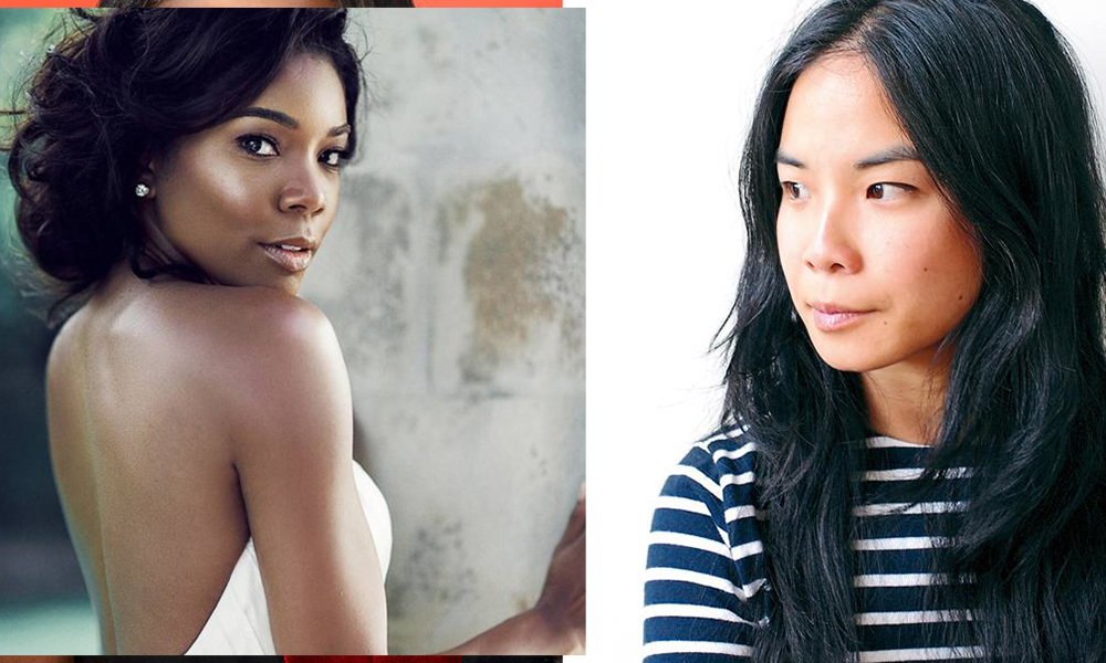 Left: Actress Gabrielle Union. Right: Writer Estelle Tang.