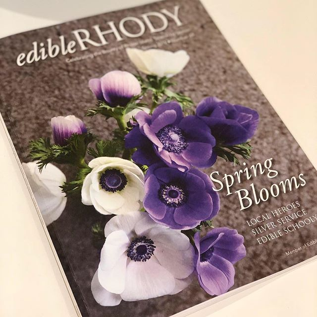 Very excited to be in the spring edition @ediblerhody! Excellent ingredients from local farms and fisheries make delicious fishcakes! Link in bio.  #localfish #nutrition #healthyfood