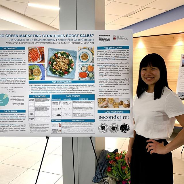 Congratulations to our fabulous intern, Amanda, on your capstone project! Thank you for your terrific work for @eatsecondsfirst  You are a star! ⭐️👏