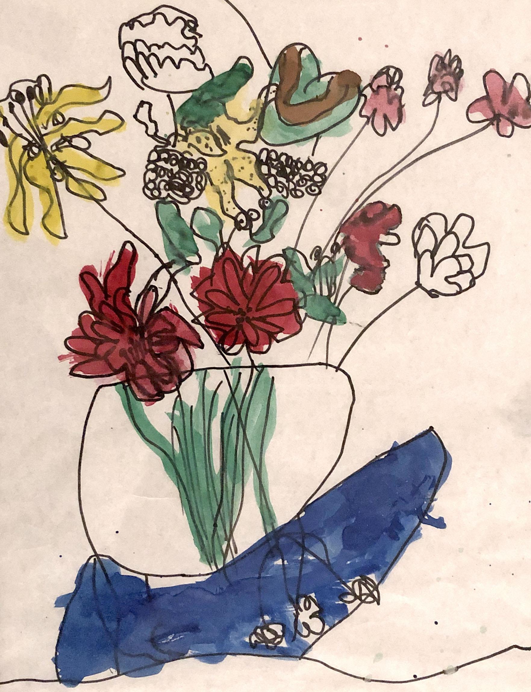 circa first grade / my first art show