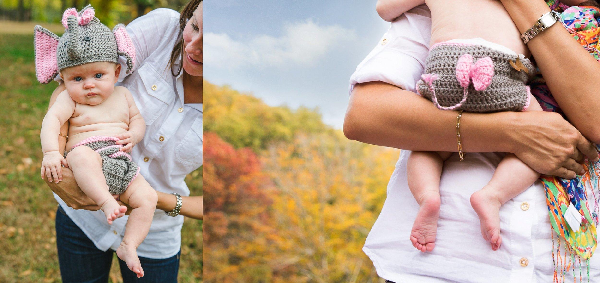 3 months,Gwenyth,Porter Family,fall session,foliage,porter blog,