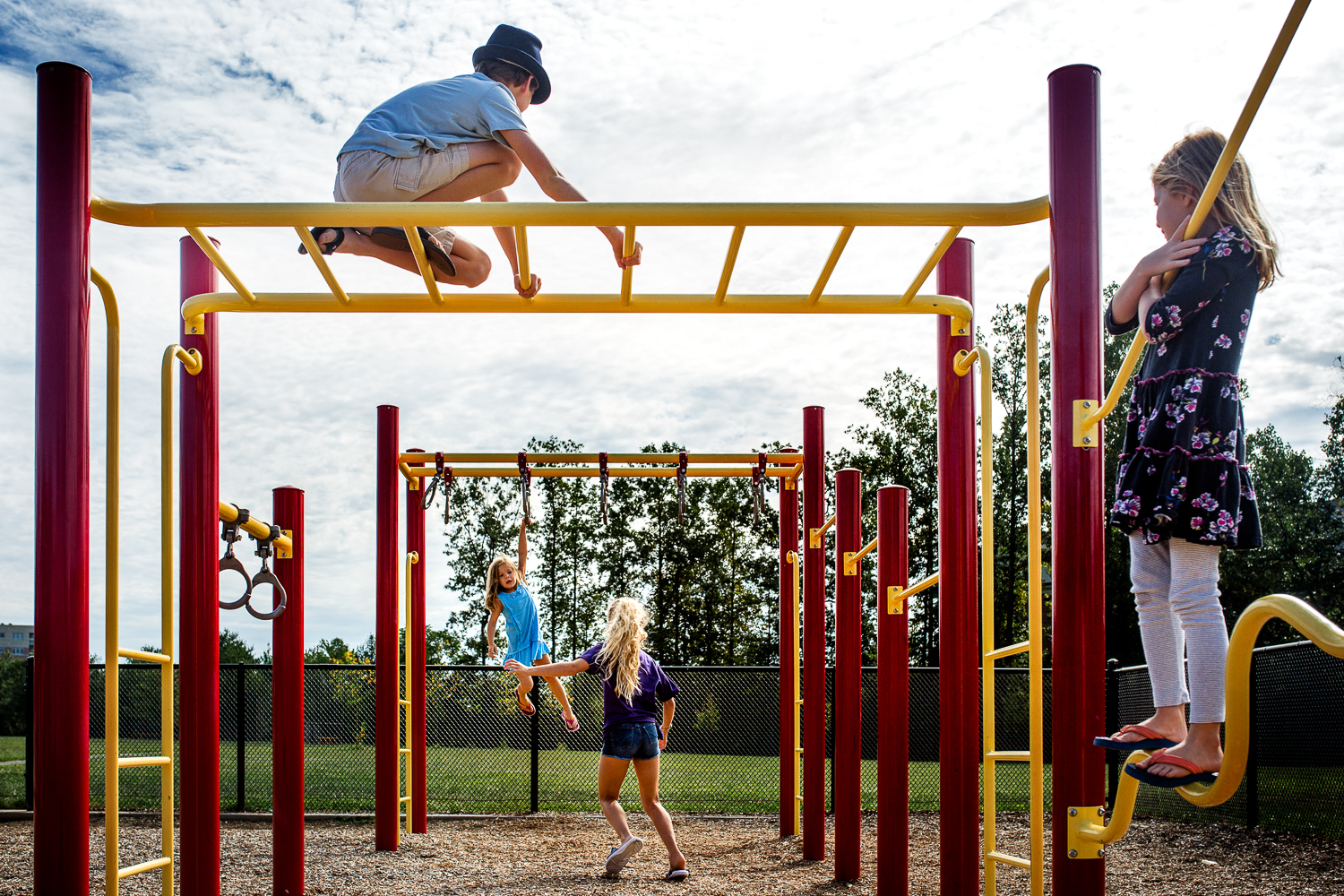 September 3, 2016 | Four in the Frame | Playground Rescue