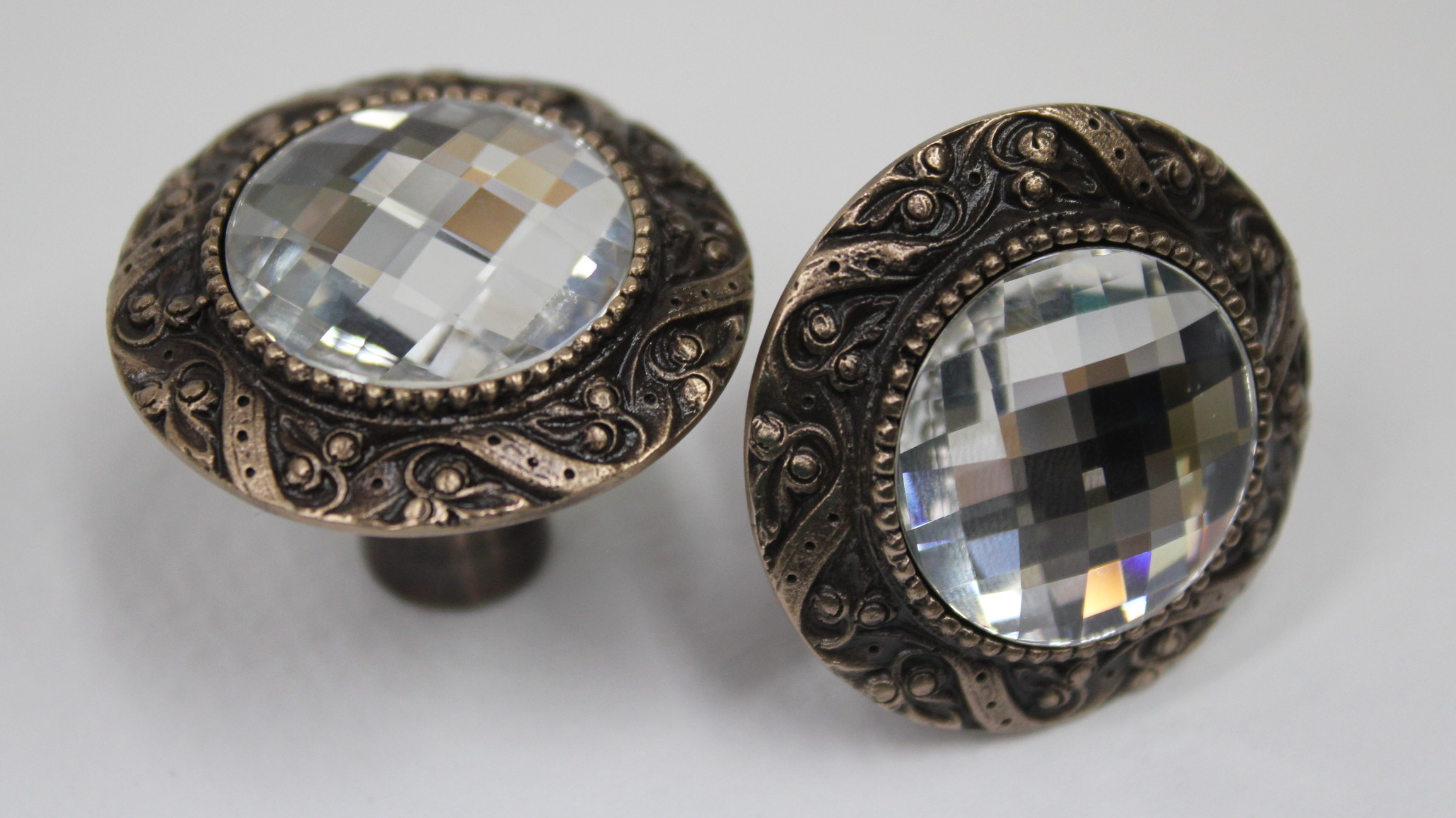 Swarovski Crystal Knobs