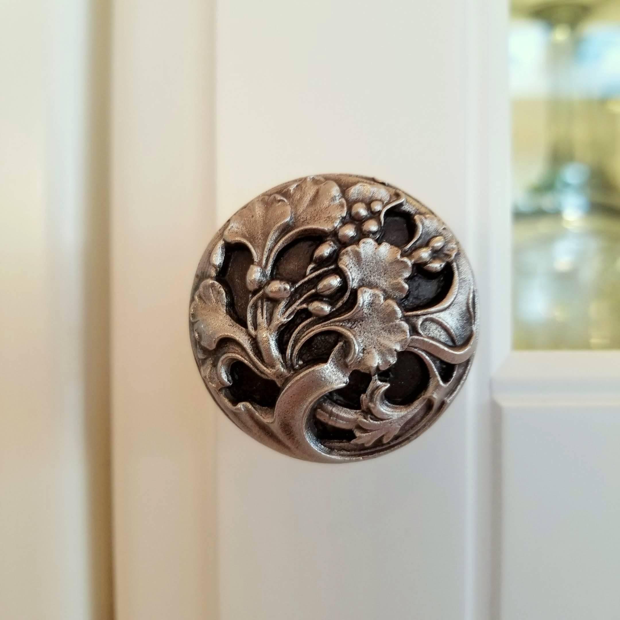 Florid Leaves knob satin nickel.jpg