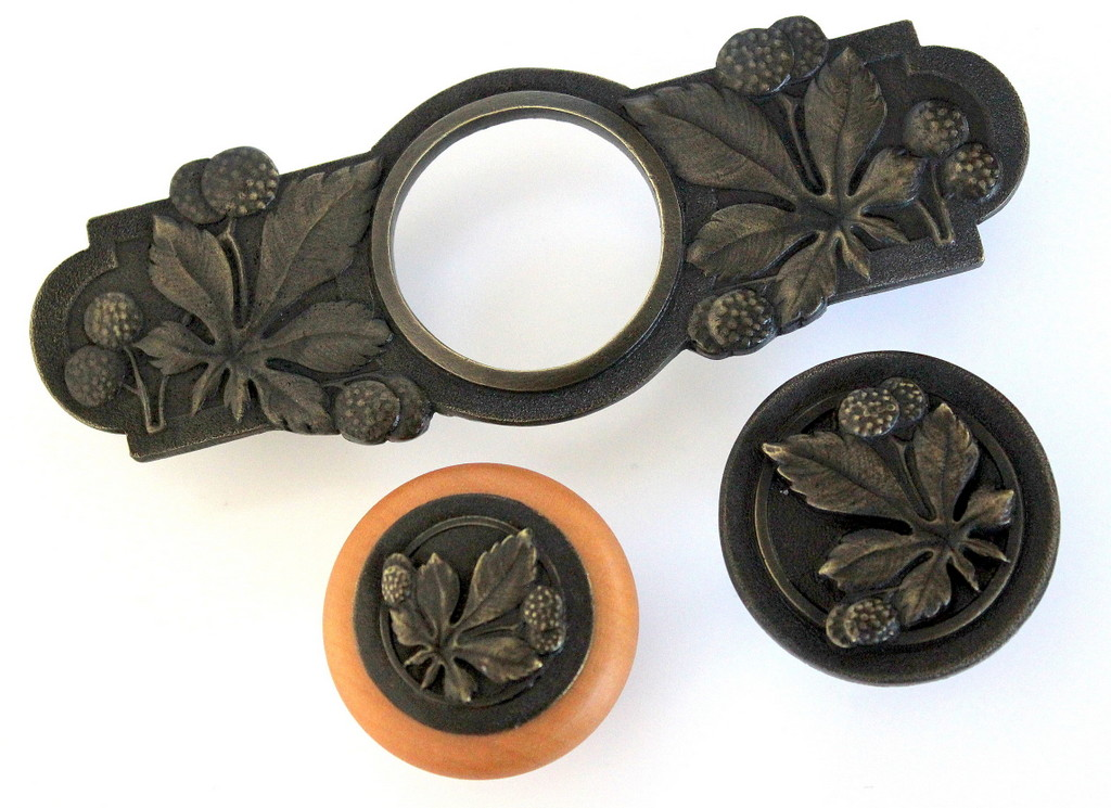 Horse Chestnut collection shown in dark brass and maple wood.jpg