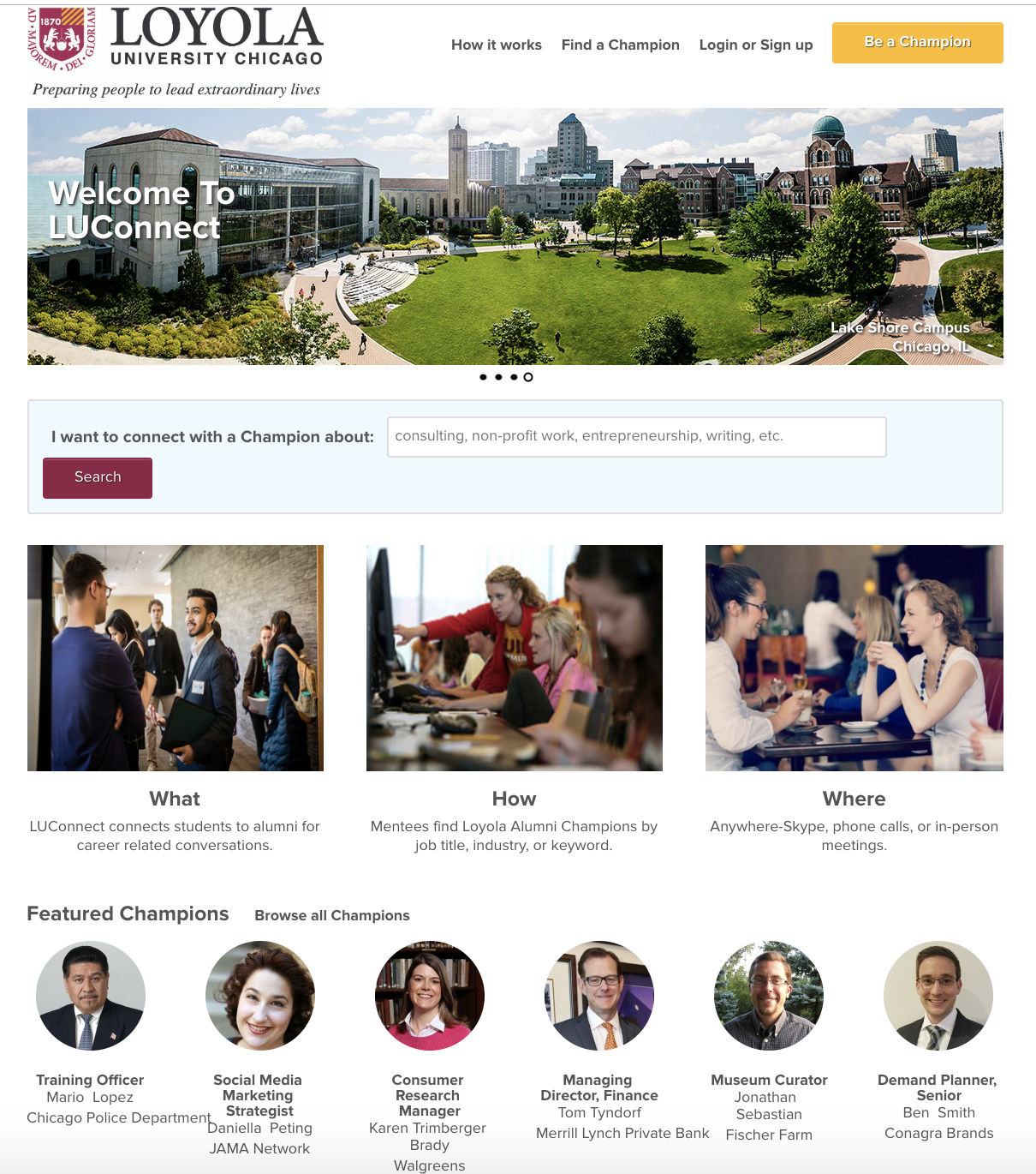 Loyola University Chicago - Example of Information Exchange.png