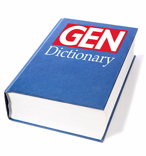 The GEN Dictionary is composed of 100 definitions at this time. We are inviting GEN readers to submit their own definitions to add to our dictionary. [Oktay Ortakcioglu/Getty]