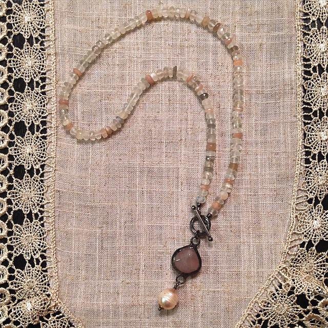 Pink Opal short necklace.jpg