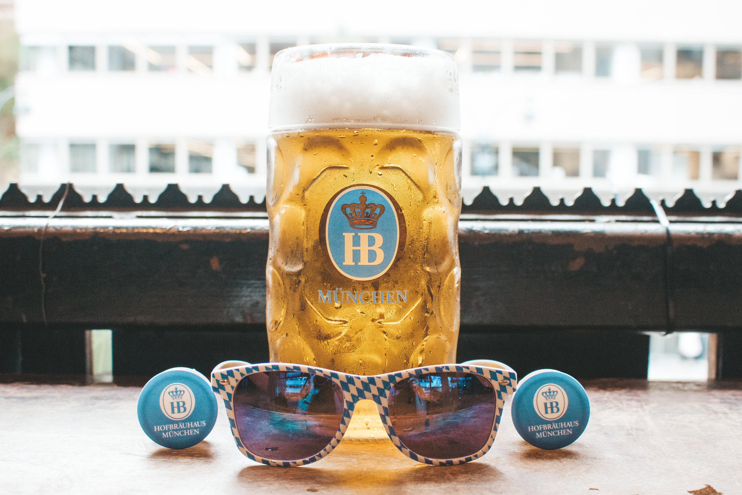 Giveaway Nights - Who doesn't love free stuff? Check out our schedule of giveaway nights and score yourself a free pair of Hofbräu sunglasses, a Hofbräu hat, or other fun prizes! *While supplies last.