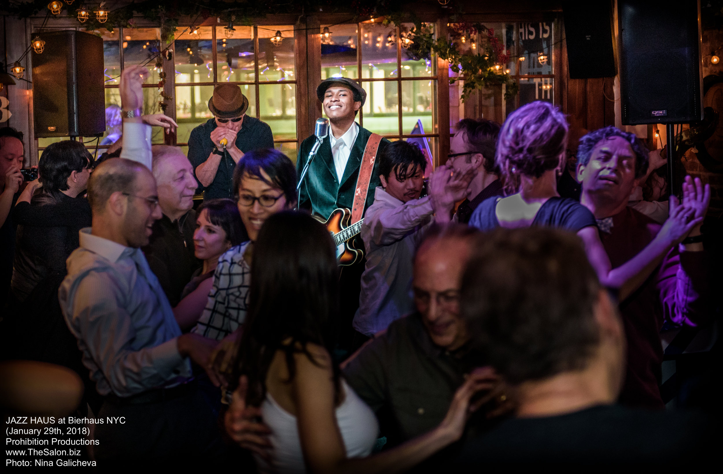 Live Music Monday through Saturday - Whether you like jazz, polka, or alternative covers of your favorite songs; we're sure you'll love our haus bands. Mondays feature live burlesque performances and on Tuesday we hold our quirky trivia night hosted by The Polka Brothers.