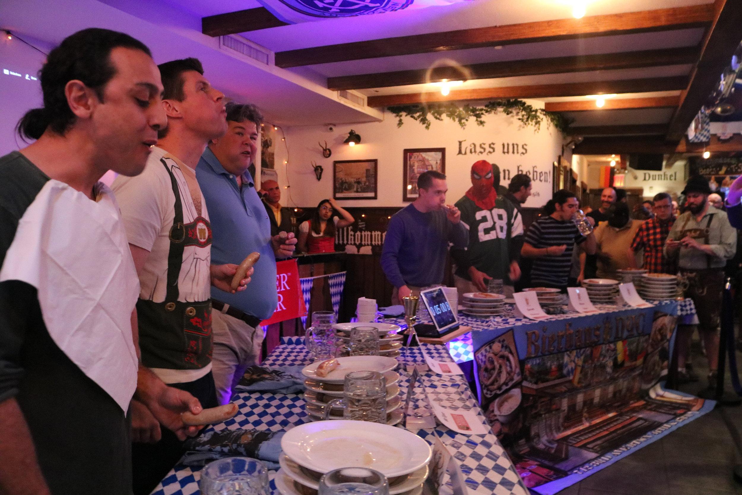 Bierhaus-NYC-Bratwurst-eating-championship.JPG