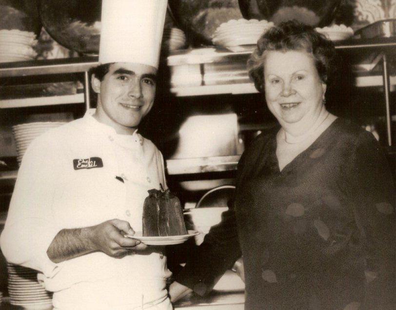 Ms Ella Brennan With Chef Emeril Lagasse