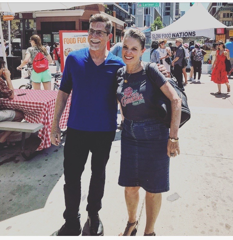 Poppy Tooker With Rick Bayless