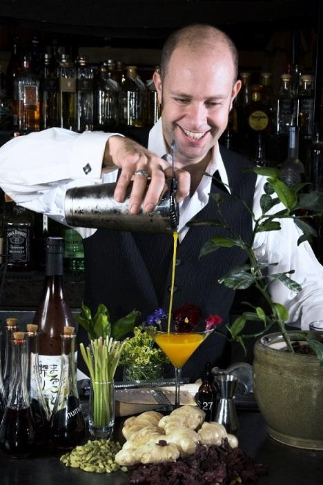 Mixologist Adam Segar consults many bars and fine dining establishments across the country, including New Orleans' Restaurant R'evolution.