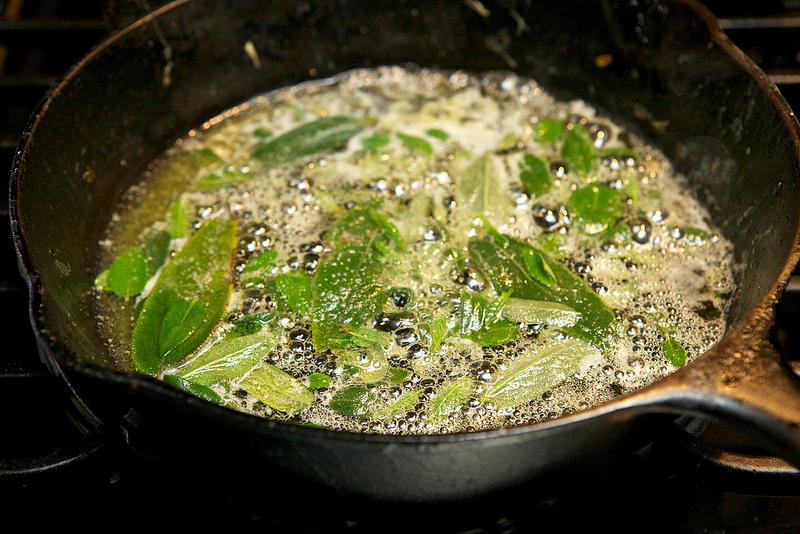Eliminating processed food from your diet does not mean you have to compromise flavor. For example, fried sage can bring a new dimension to some of your favorite dishes