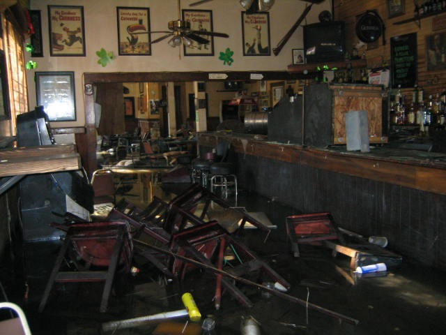 The interior of Finn McCool's, September 11, 2005.   Credit Ian McNulty