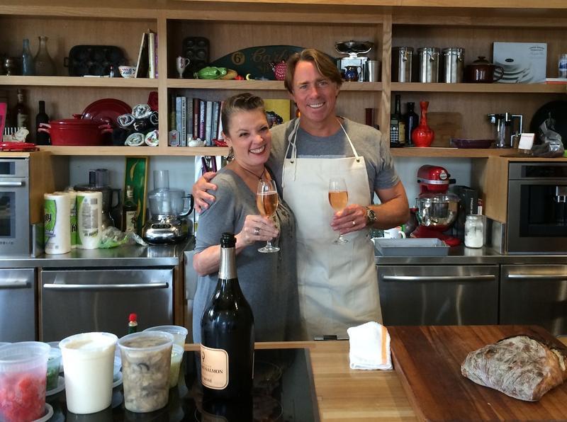 Poppy Tooker and Chef John Besh    SHAUN JOHNSON