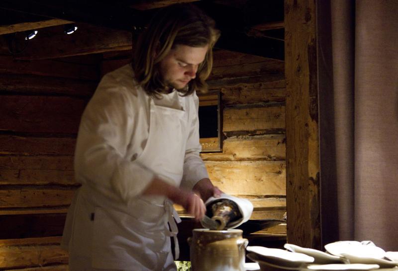 Chef Magnus Nilsson at Fäviken in Sweden.    ANDERS CARLSSON/FLICKR