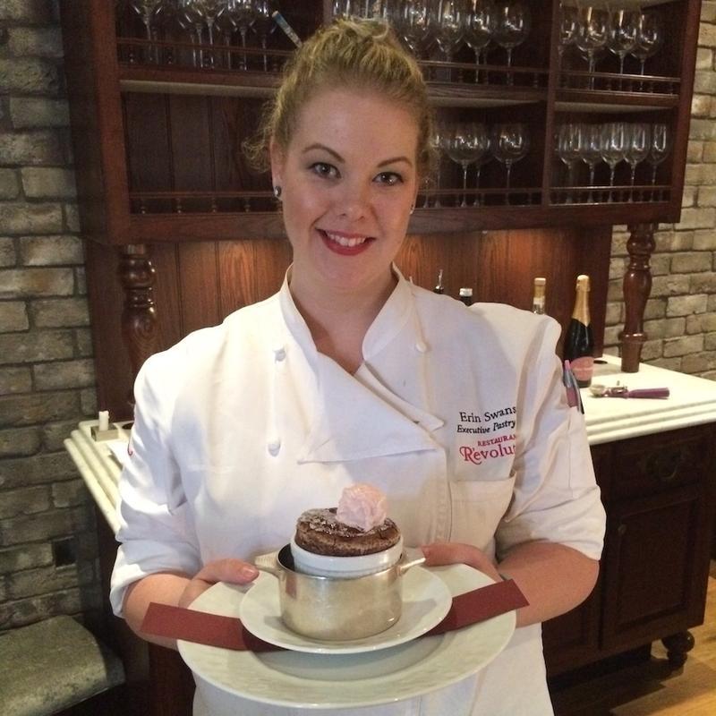 Pastry chef Erin Swanson of Restaurant R'evolution.    POPPY TOOKER