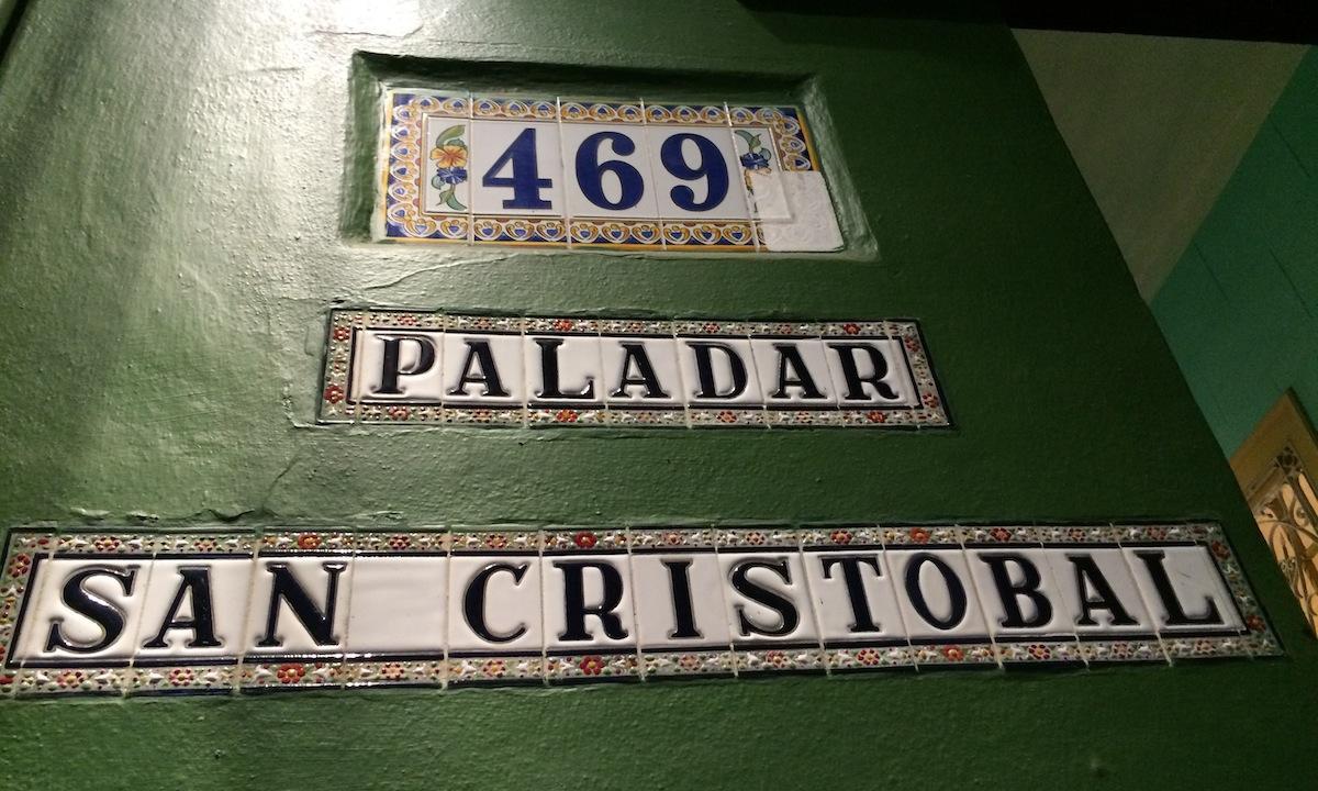 Inside the Paladar San Cristóbal in Central Havana.  POPPY TOOKER