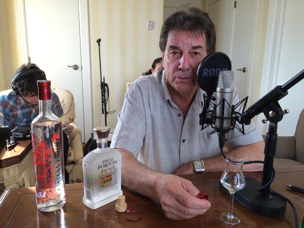 Peruvian restaurateur, reality television star and master distiller at Pisco Porton, Johnny Schuler.   CREDIT POPPY TOOKER