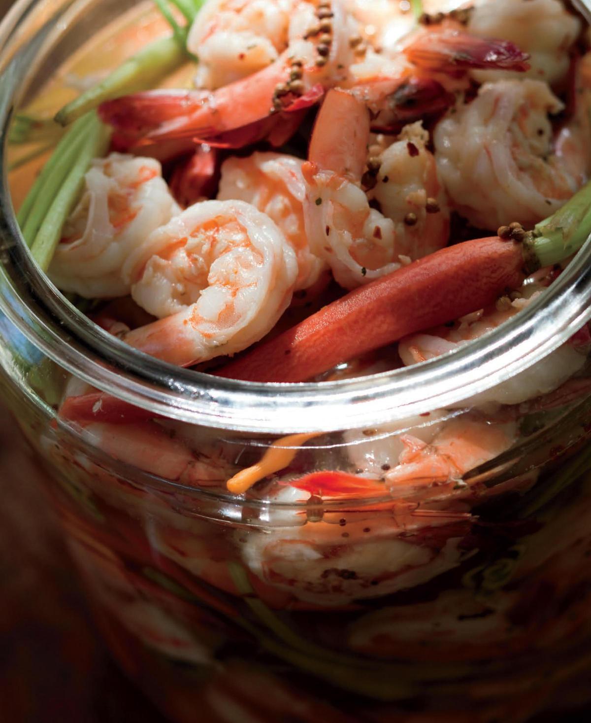 John Besh's Pickled Shrimp   Credit Maura McEvoy