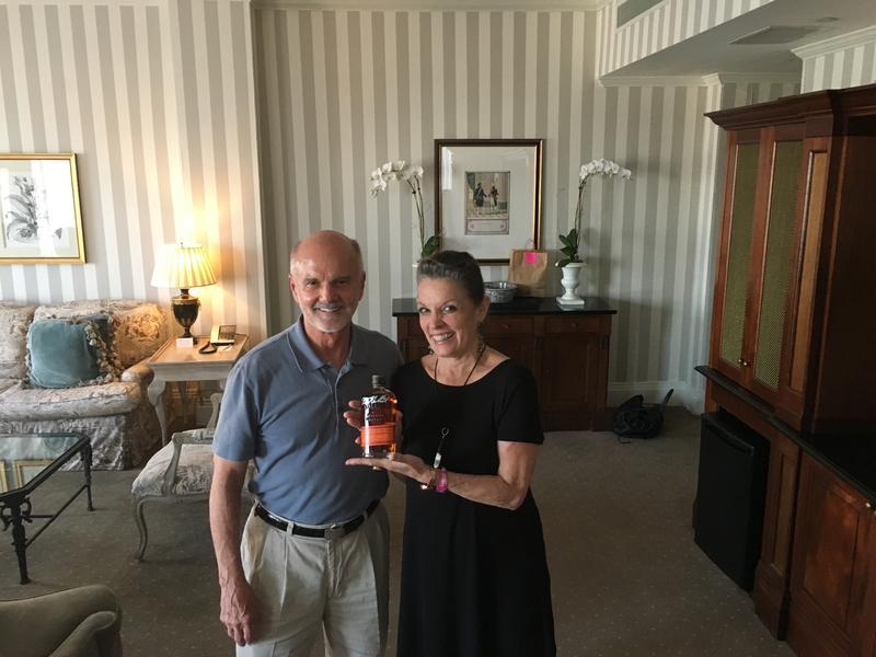 Host Poppy Tooker With Tom Bulleit    REGGIE MORRIS/LOUISIANA EATS