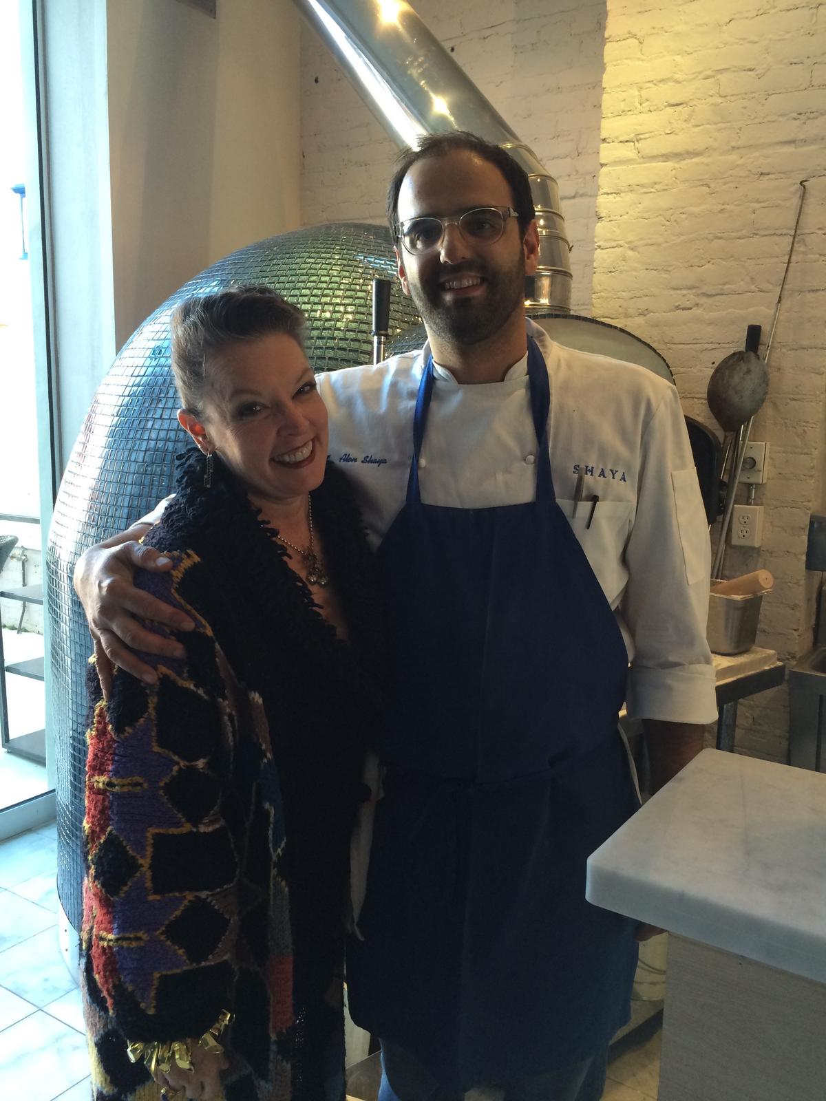 Host Poppy Tooker with Alon Shaya   Credit Reggie Morris / Louisiana Eats