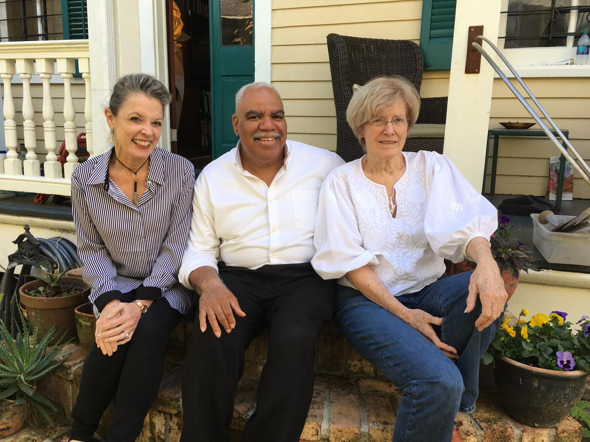 Poppy with Judy and Morris   Credit Reggie Morris / Louisiana Eats