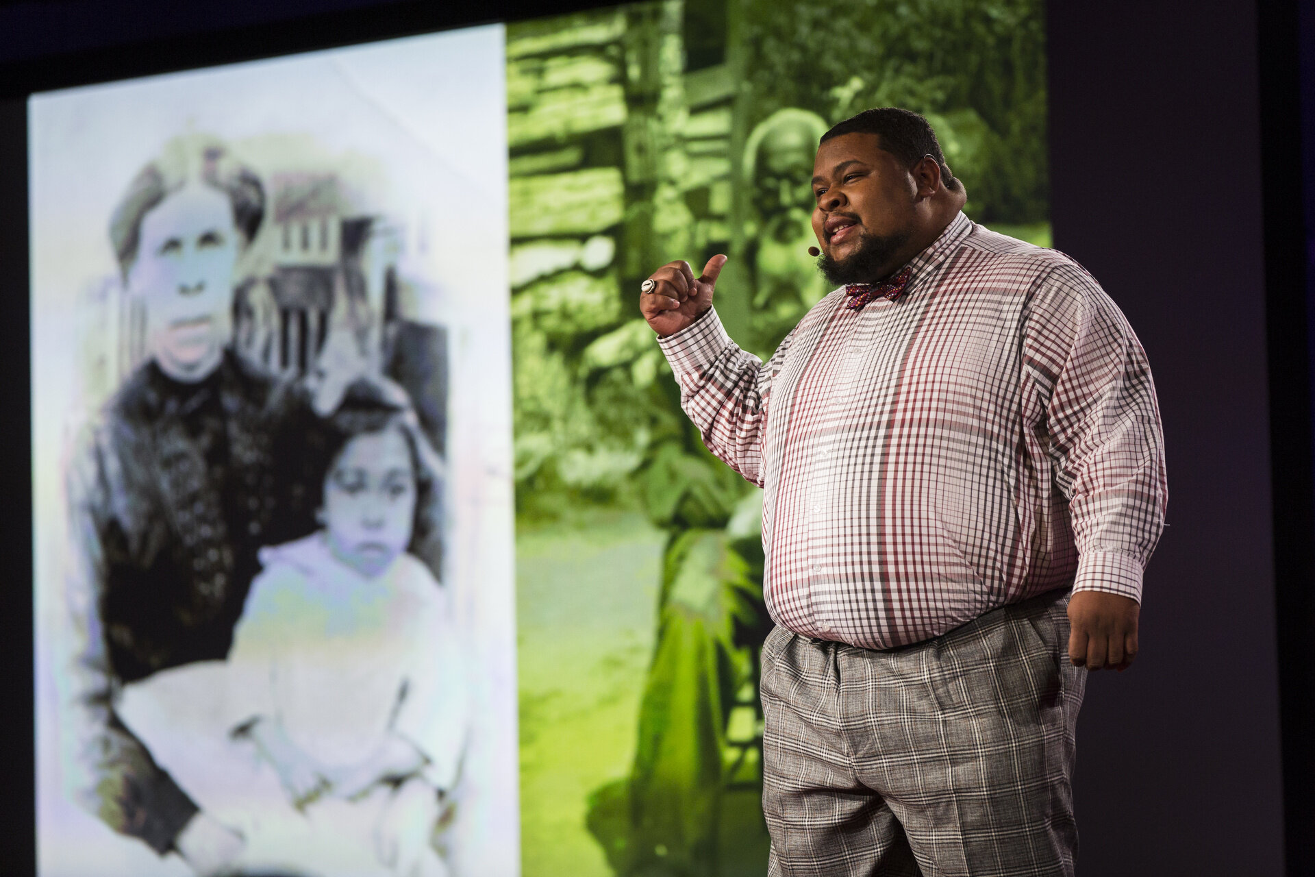 Culinary historian, historical interpreter, and Judaic studies teacher Michael W. Twitty.    Credit:  Ted Conference    Source: Flickr