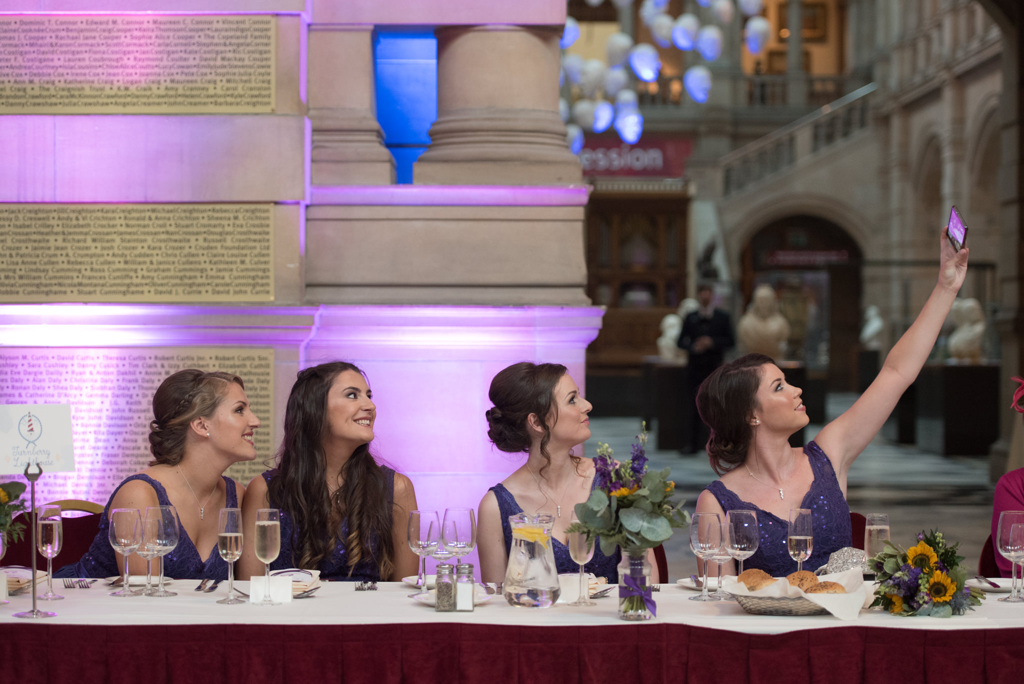 Carrie and Jonathan's wedding - Glasgow University Chapel and Kelvingrove Art Gallery - 29 July 2017 - © Julie Broadfoot - www.photographybyjuliebee.co.uk
