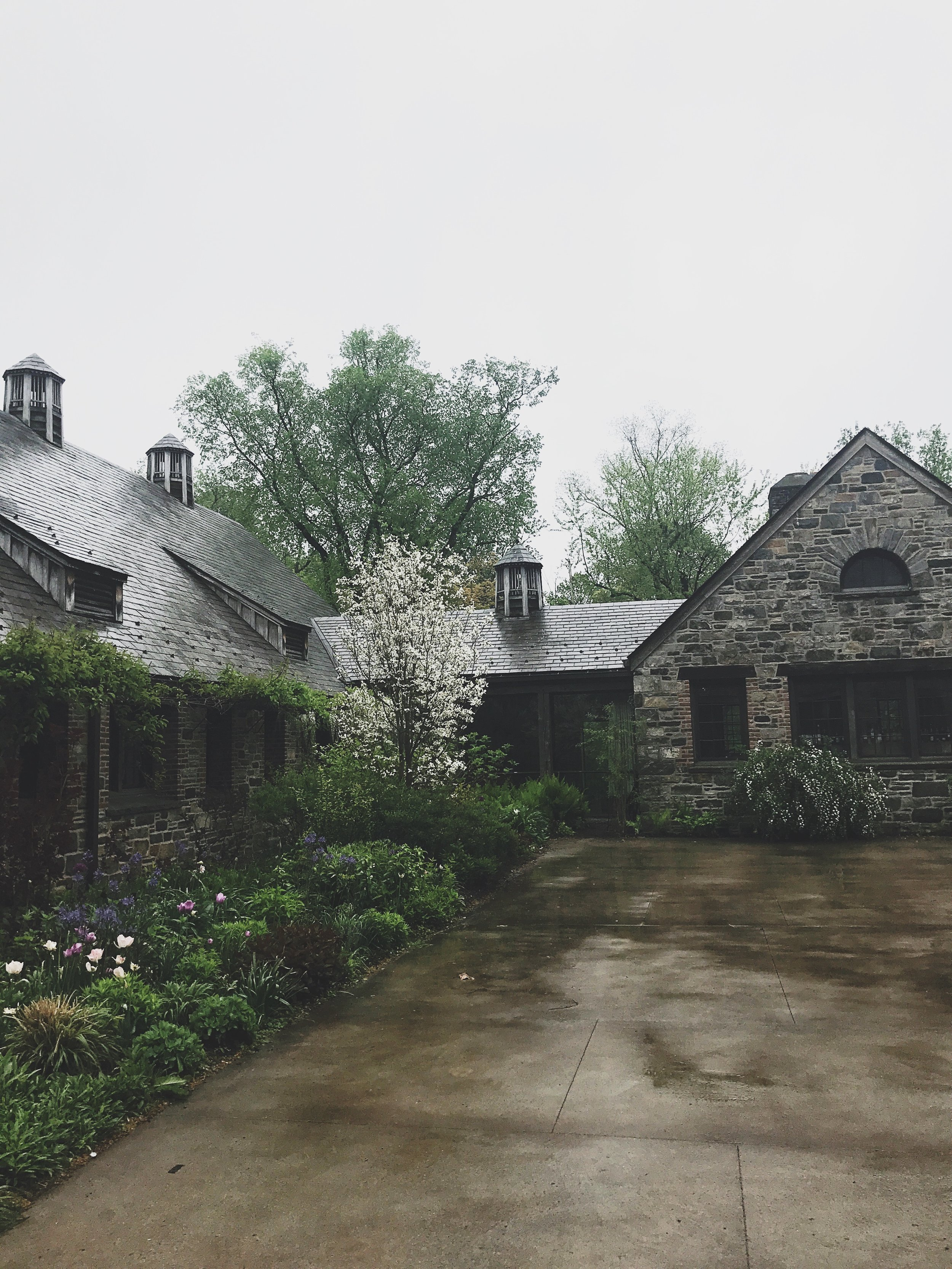 Stone Barns is built in the Normandy Style