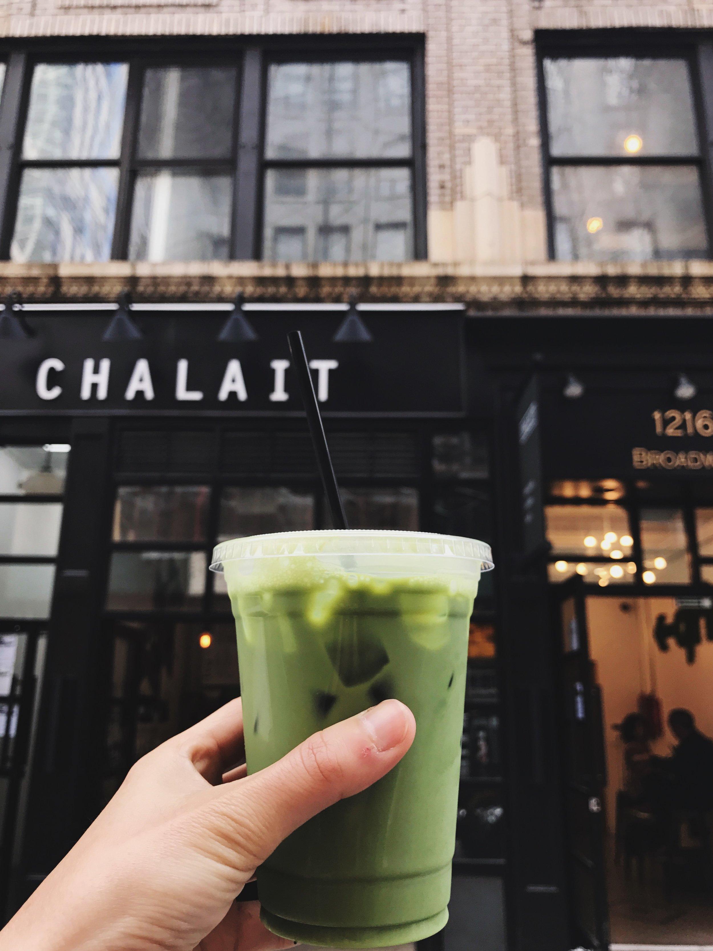 Matcha Latte at Chalait