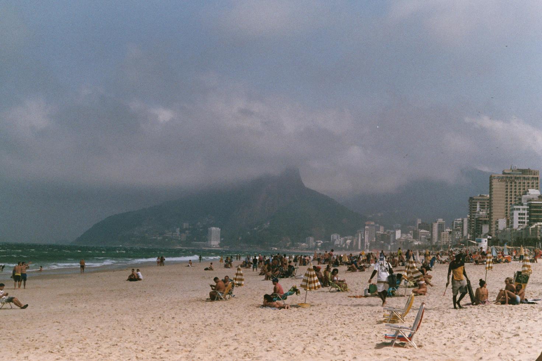 Copa Cabana Beach, Rio de Janiero, Brazil