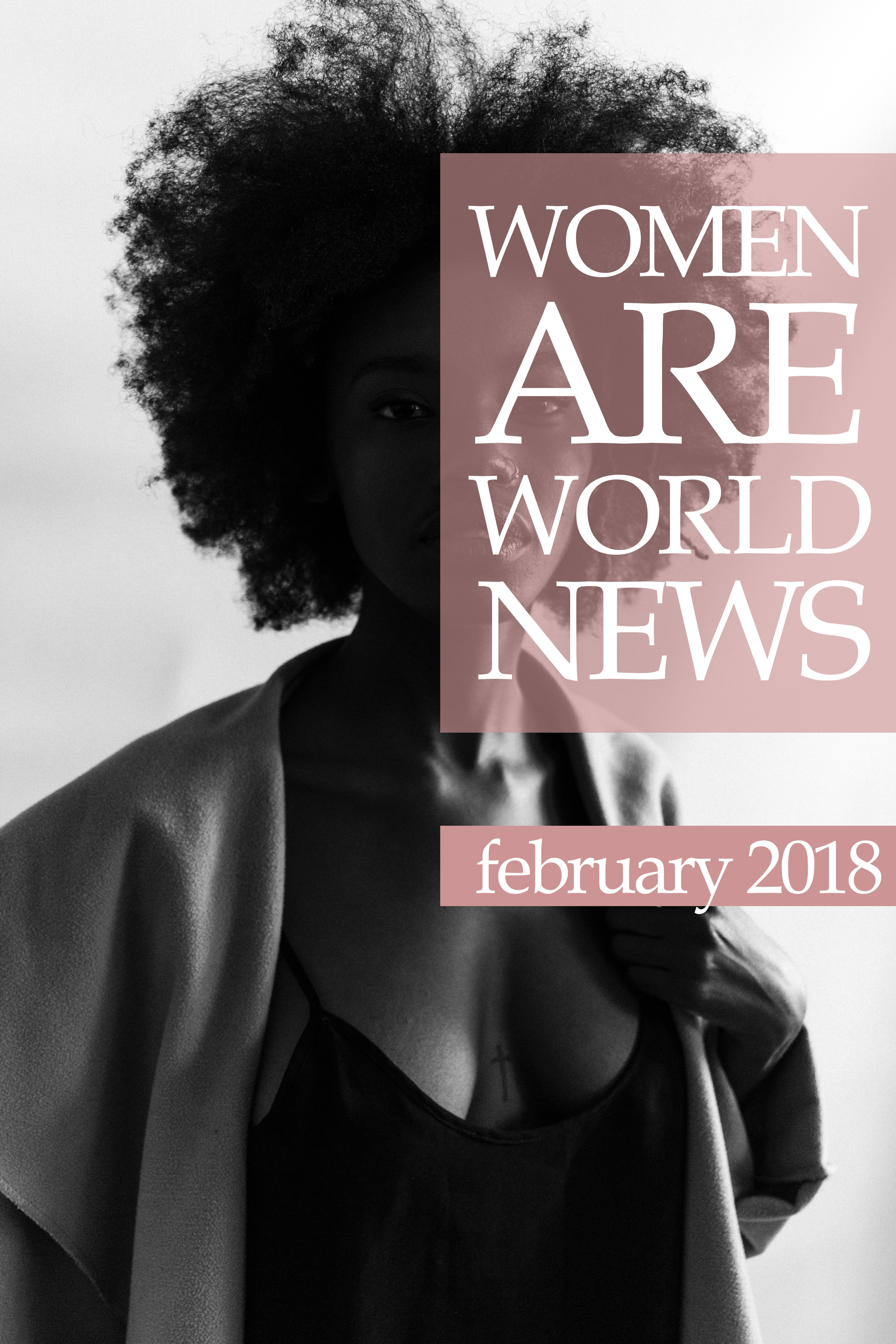 Blog header created for Ladies of Steemit's monthly news curation.