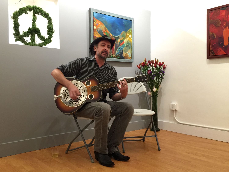 Eric Friedman performing