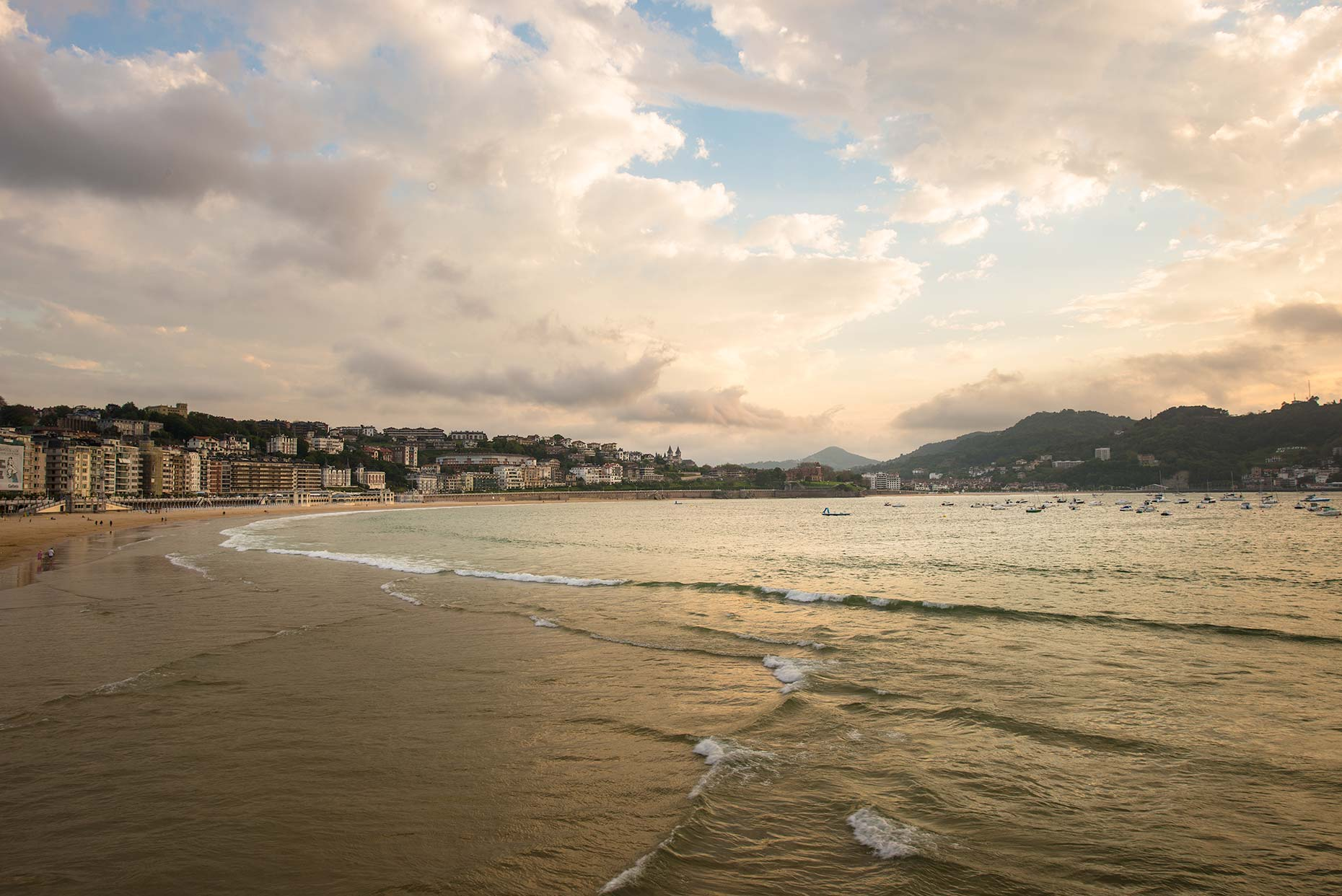 Beach Photography in San Sebastian, Spain
