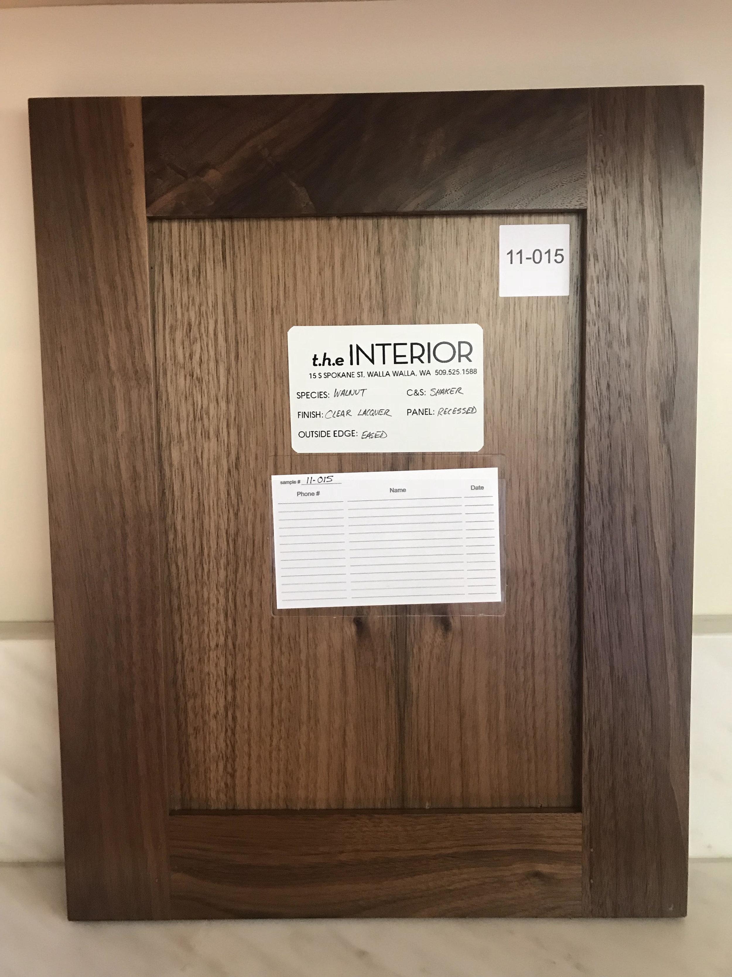 Lacquer Walnut - Wood Design