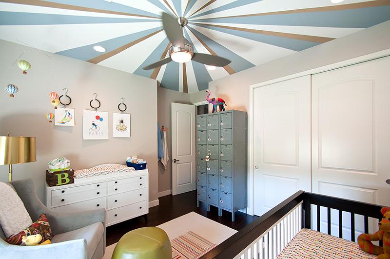 Christopher Macon, Custom Ceiling Design for Red Egg Design Group