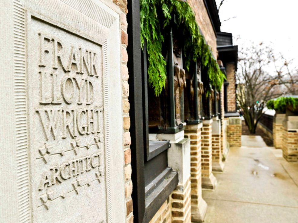 Frank Lloyd Wright Home Exterior