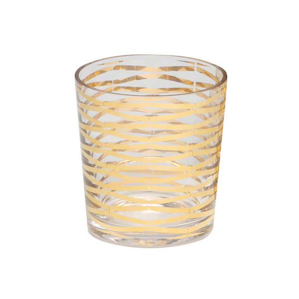Gold Ribbon Glasses, Dwell Studio
