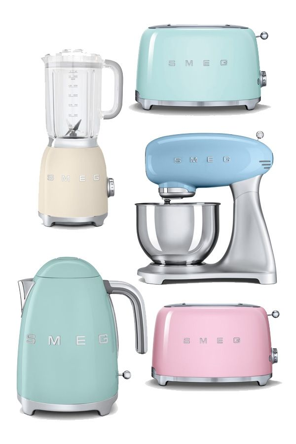 Colored Kitchen Gadgets