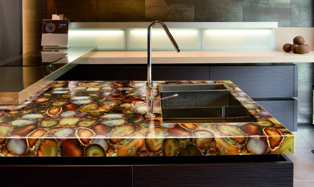 Carnelian Prexury Countertop- Available at Cosentino, Phoenix, AZ