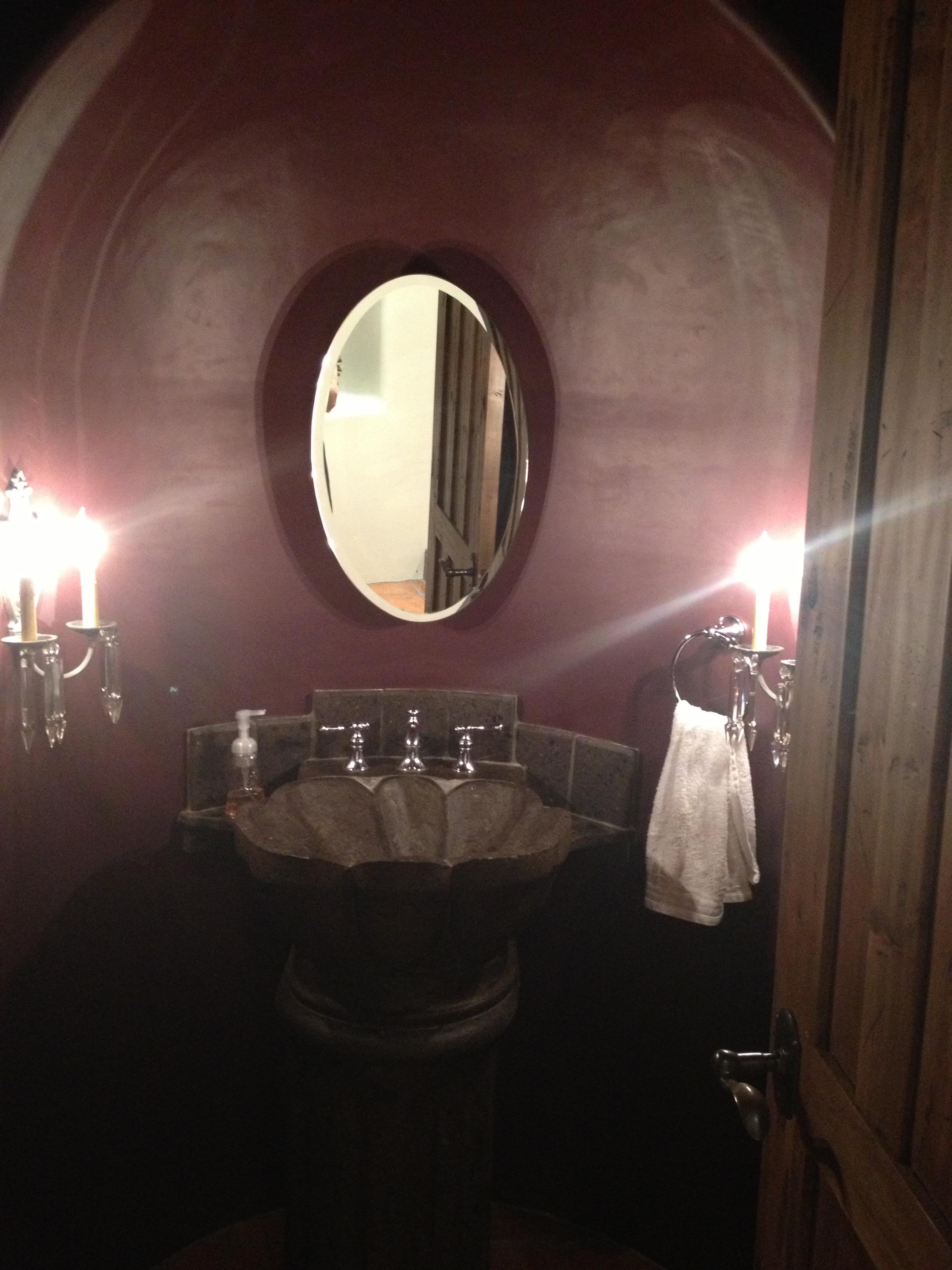 Powder Bath, Before.