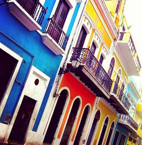 Vibrant Architecture in Old San Juan