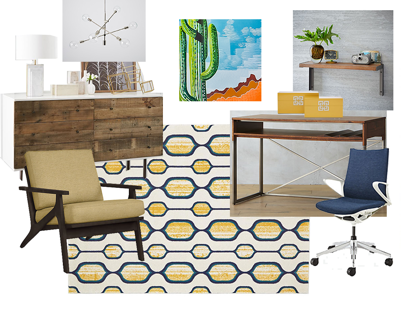 Sources:  Room and Board ,  CB2 ,  West Elm ,  Red Egg Design Group