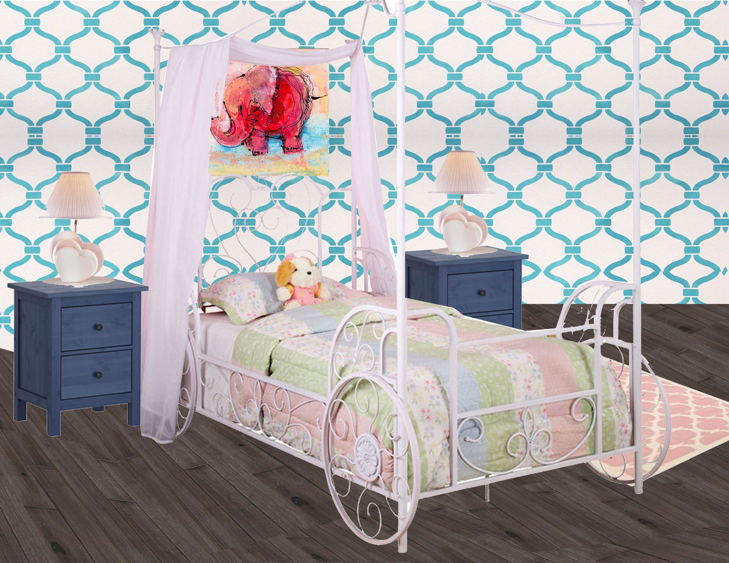 Girls Room, Design