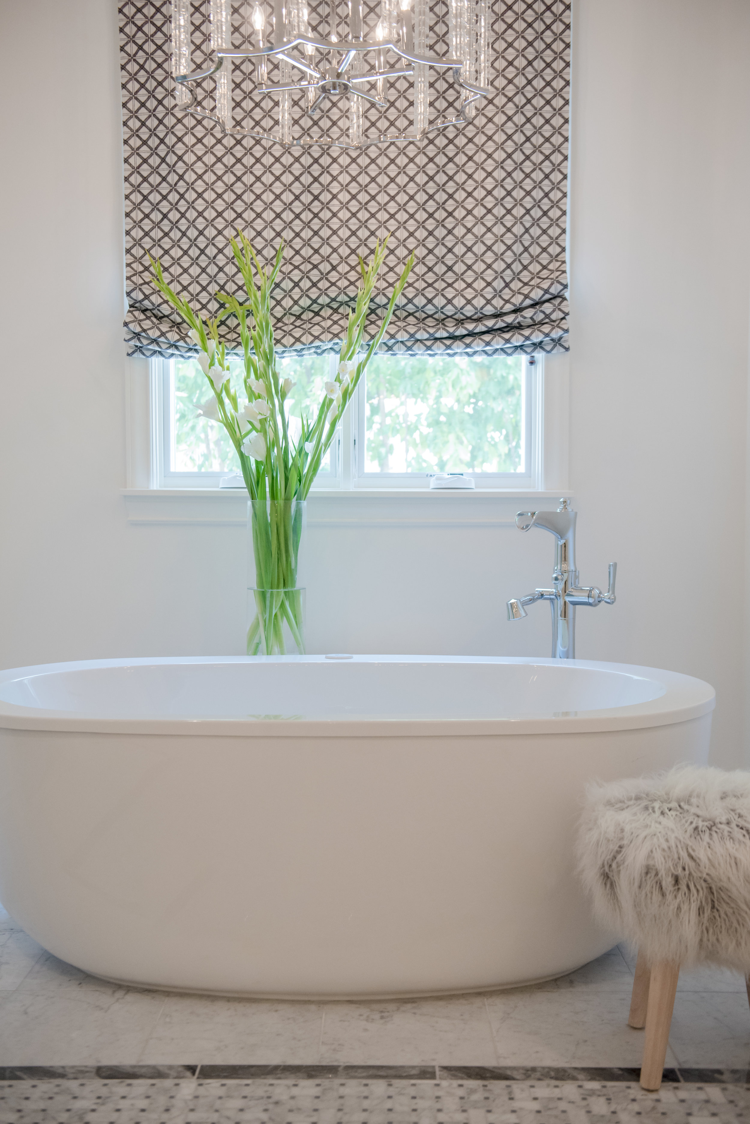 73+Master+Bath+Carrara+Marble+Vanity+Bathtub+Romanshades+Floral+Sheepskin+Window+Scottsdale.jpg