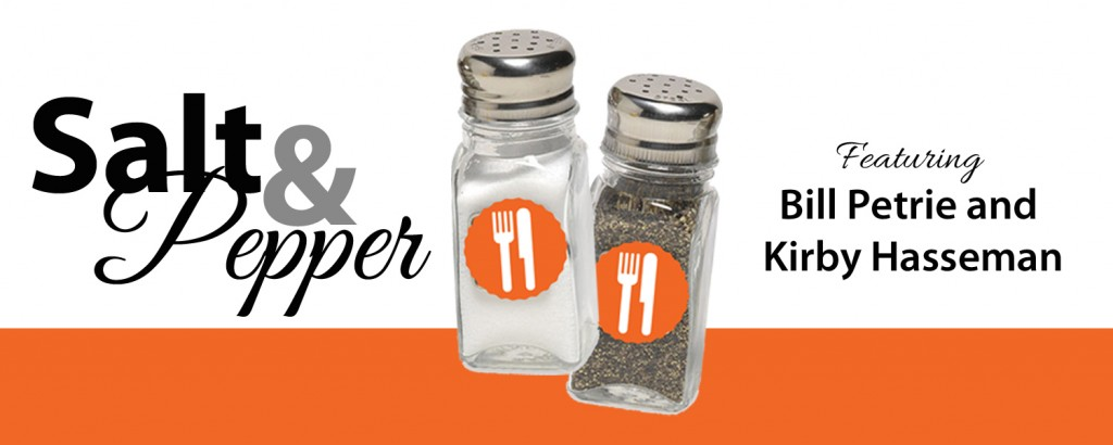 NOTE: Salt & Pepper is intended to foster intelligent dialogue between professionals. This is not a dagger throwing contest. Be honest and authentic, but please also be kind and keep it classy.